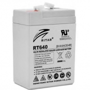 AGM RITAR RT640 6V 4Ah_0
