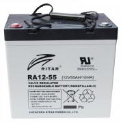 AGM RITAR RA12-55 12V 55Ah_0