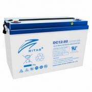AGM RITAR DC12-80 12V 80Ah_0